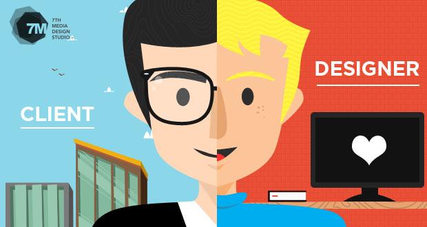 define designer vs client relationship